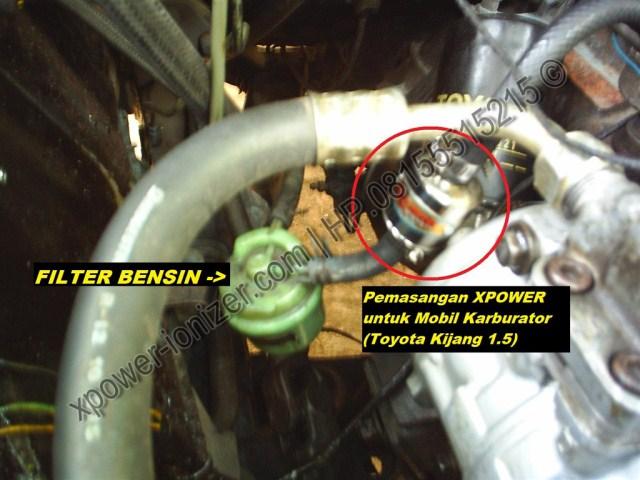 Penghemat BBM Xpower untuk Mobil Kijang Karburator PASANG XP-4000