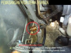 Pemasangan Penghemat Bensin XENIA-AVANZA, PASANG XPOWER XP 7000 G