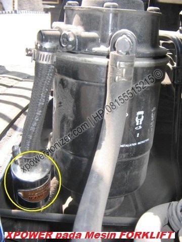 Penghemat BBM Mesin Diesel Industri pada FORKLIFT | www.xpower-ionizer ...