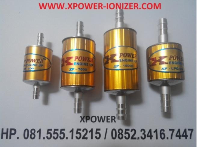 Tipe-Tipe XPOWER Penghemat BBM - Mobil - Motor - LPG
