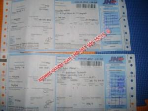 Bukti Pengiriman XPOWER via JNE untuk Pelanggan di SUBANG dan JAKARTA , 4 September 2012 [xpower-ionizer]