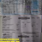 Bukti Resi Kiriman XPower penghemat BBM , 8-9-2012