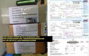 Bukti Kiriman XPower penghemat BBM , 15 sd 16-9-2012