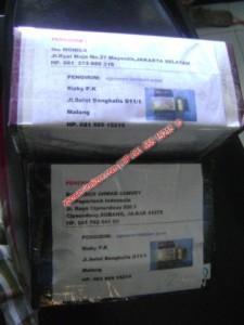 Pengiriman XPOWER untuk Pelanggan di SUBANG dan JAKARTA , 4 September 2012 [xpower-ionizer]