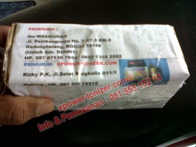 Pengiriman Penghemat BBM XPower Selama OKTOBER 2012
