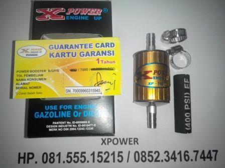 Penghemat BBM Mobil dan Motor Merk XPOWER